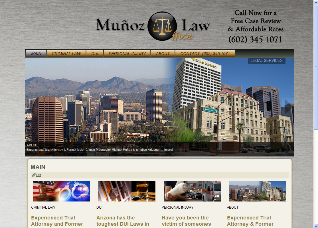 WordPress Web Designer for Attorneys