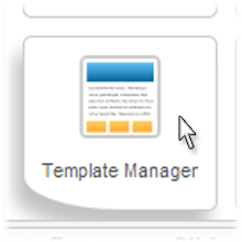 Joomla Template Manager