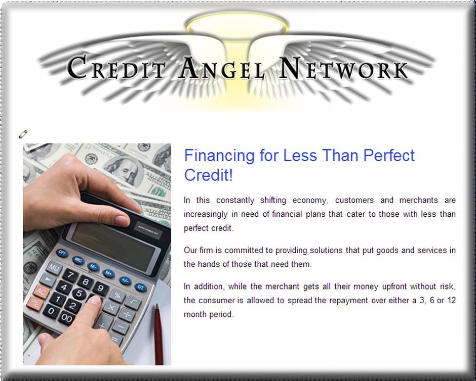 WordPress Web Designer for Credit Services