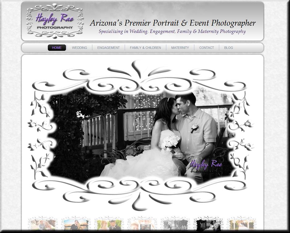 WordPress Web Designer for Photographers