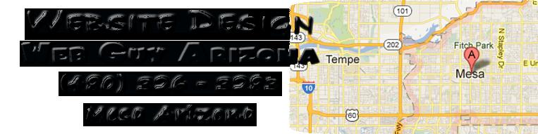 Web Guy Arizona in Mesa Arizona provides full website design and repair services